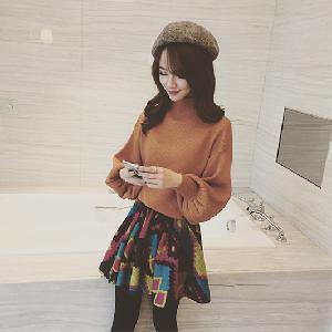 Стилен дамски пуловер в 5 различни цвята