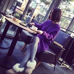 Дълъг дамски пуловер в 3 цвята