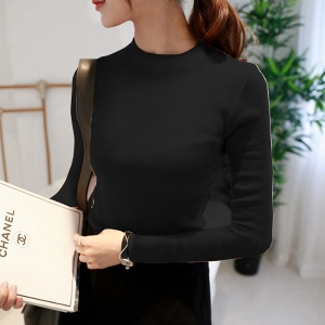 Стилен дамски пуловер в 9 цвята