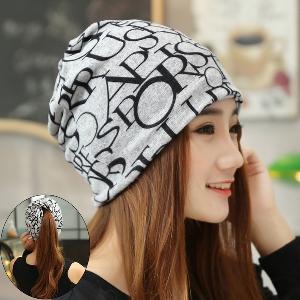 Дамска модерна шапка - есенна и зимна