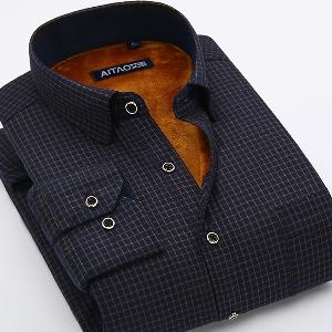 1d7e4662baaf Βαμβακερά ανδρικά πουκάμισα για το φθινοπώρο και το χειμώνα - Badu ...
