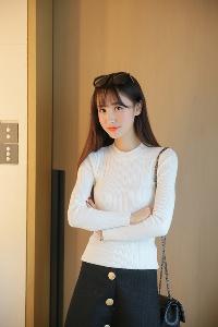 Дамски пуловер в 4 различни цвята