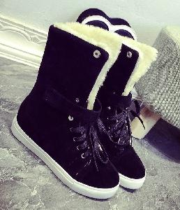 Дамски зимни обувки в 3 цвята
