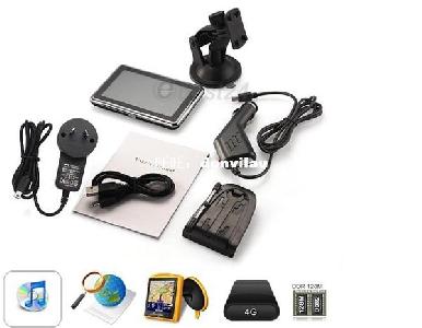 4.3 инчов LCD сензорен екран GPS Car Navigation MTK 4G