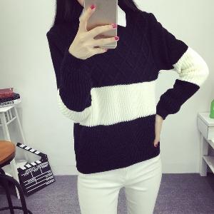 Дамски пуловер  в 6 различни цвята