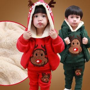 Костюм за малки деца от три части - 2 модела