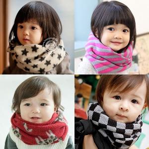 Детски шалове - разнообразни модели