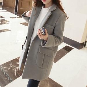 Κομψό γυναικείο μακρύ χειμωνιάτικο παλτό - κόκκινο κρασί 6fda553096e