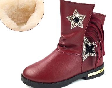 af21f796d69 Φτηνές μπότες για κορίτσια και γυναίκες από τεχνητό δέρμα σε κόκκινο,  μαύρο, ροζ χρώμα