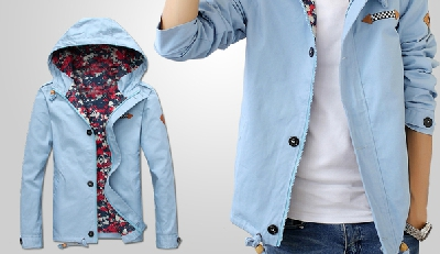 Ανδρικό  μπουφάν   για την άνοιξη με κουκούλα- διάφορα μοντέλα