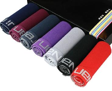 Комплект мъжко бельо - 7 бройки боксерки в различни цветове и варианти