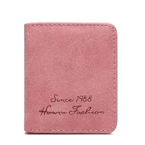 Μικρό συμπαγές κυρίες πορτοφόλι σε οκτώ χρώματα