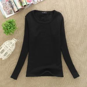Дамска блуза - изчистен модел - в няколко цвята