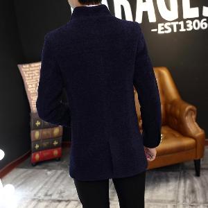 Стилни мъжки вълнени палта - 5 модела