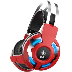 Геймърски слушалки YoBo - светещи и стандартни в различни цветове