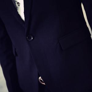 Официално есенно мъжко сако - модела