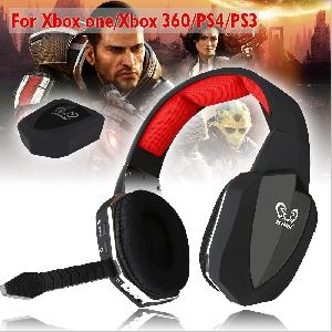 Безжични Слушалки HUHD 2.4Ghz / XBOX ONE, XBOX 360, PS4, PS3 / микрофон / игри