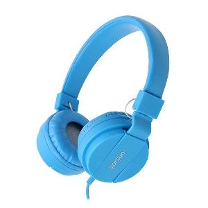 Сгъваеми слушалки Gorsun за телефон и компютър - бял,жълт,черен,оранжев,розов и син цвят