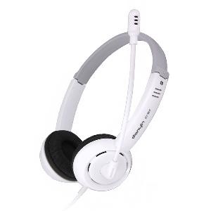 Слушалки Danyin за компютър  - бял и черен цвят