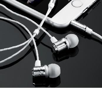 Слушалки за телефон - черен,червен,бял и златист цвят