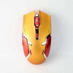 Безжична мишка тип Iron Man 2.4Ghz с бутон за DPI настройване 1000-1600 в 3 модела