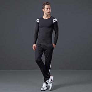 Мъжки спортен комплект от горнище и долнище  - къси и дълги модели в различни цветове