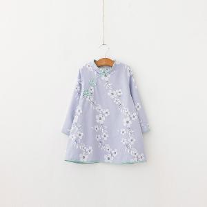 Детска модерна рокля за момичета - в три модела