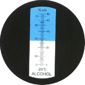 Рефрактометър 0 - 80
