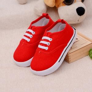 Пролетни бебешки обувки - жълти, сини, червени, зелени и други модели