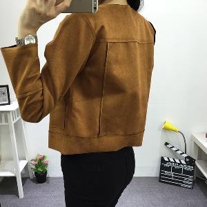 Дамско яке - пролетно и есенно - стилно, късо и елегантно