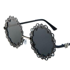 Кръгли дантелени дамски очила очила
