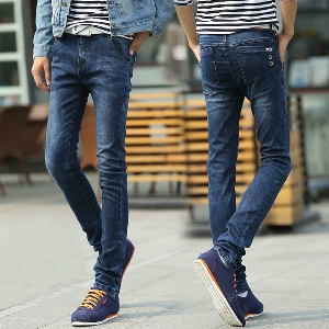 Мъжки небрежни дънки - 9 модела