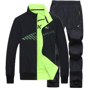 Мъжки спортен комплект от 2 части в 2 цвята