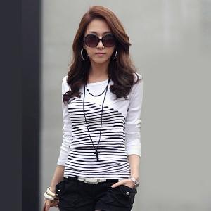 Дамски блузи с къс и дълъг ръкав 13 модела