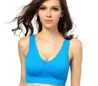 Спортно дамско бюстие  - различни цветове и модели