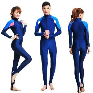 Неопренов костюм за плуване и гмуркане с UV - защита