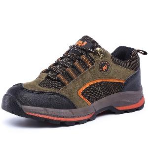 Пролетни и есенни дебели туристически мъжки обувки - 9 модела