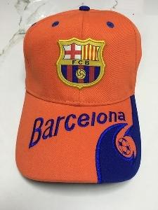 Лятна унисекс фенска шапка с козирка на топ футболни отбори - Реал Мадрид, Барселона, Дормунд, Ливърпул, Манчестър Юнайтед и дру