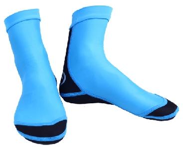 Неопренови водоустойчиви чорапи за гмуркане и плуване в два цвята - сини и розови