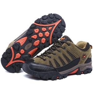 Дебели цветни дамски и мъжки туристически обувки - 8 модела