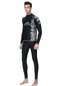 Мъжка блуза за плаж, гмуркане и плуване - слънцезащитна