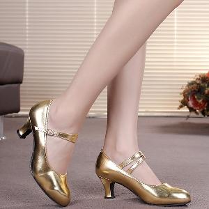 Дамски лачени обувки за танци