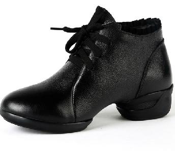 Кожени обувки за джаз танци