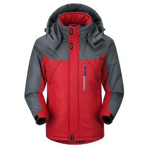 Дамски и мъжки дебели якета с кадифе за алпинизъм - 3 модела
