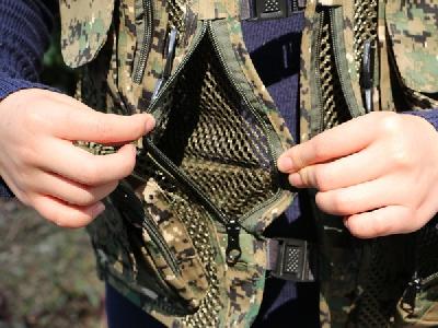 Многофункционална жилетка за риболов