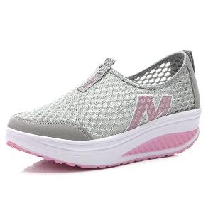 Дамски летни мрежести и дишащи обувки подходящи за ежедневие, маратон и спорт