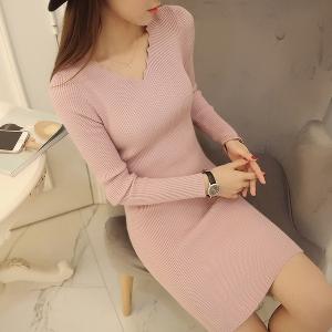 Дамска рокля-пет цвята