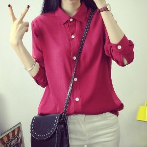 Дамска риза в четири цвята