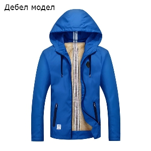 Ανδρικά  μπουφάν  για το φθινόπωρο και την άνοιξη - Παχύ και λεπτό μοντέλο σε 5 χρώματα