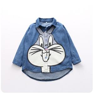 4f6fb8be403 Детска дънкова риза Бъкс Бъни за момичета - Badu.bg - Светът в ръцете ти